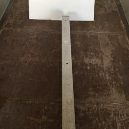 Flagstang sokkel i beton til 9-10 m flagstang
